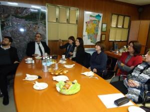 בקור אשת השגריר הבריטי  גב' סליה גולד בבני ברק, ב 10 לינואר 2013 - והצגת פעילות מרכז מידע לבריאות האישה.